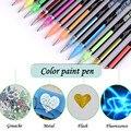 Флуоресцентный Цвет маркеры 48 Цвет с одной головкой маркер живопись цветная ручка для рисования Цвет ручка школьные канцелярские художест...