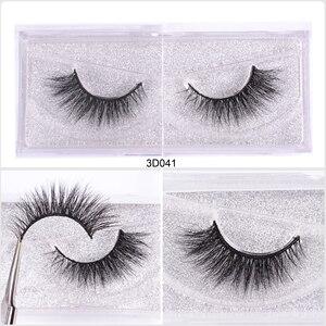 Image 4 - WZSQJN Eyelashes 3D Mink Eyelashes Long Lasting Mink Lashes Natural Dramatic Volume Eyelashes Extension False Eyelashes