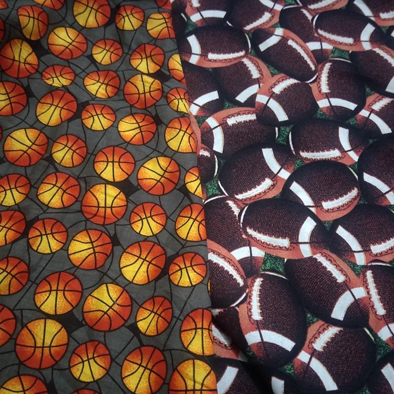 Ткань хлопковая для регби и баскетбола, 110 х50 см