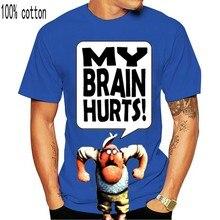 Camiseta gráfica monty python-meu cérebro dói em todos os tamanhos