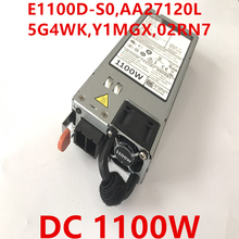 New PSU For Dell R620 R720 R730 R520 DC48V 1100W Power Supply E1100D-S0 AA27120L 5G4WK Y1MGX 02RN7