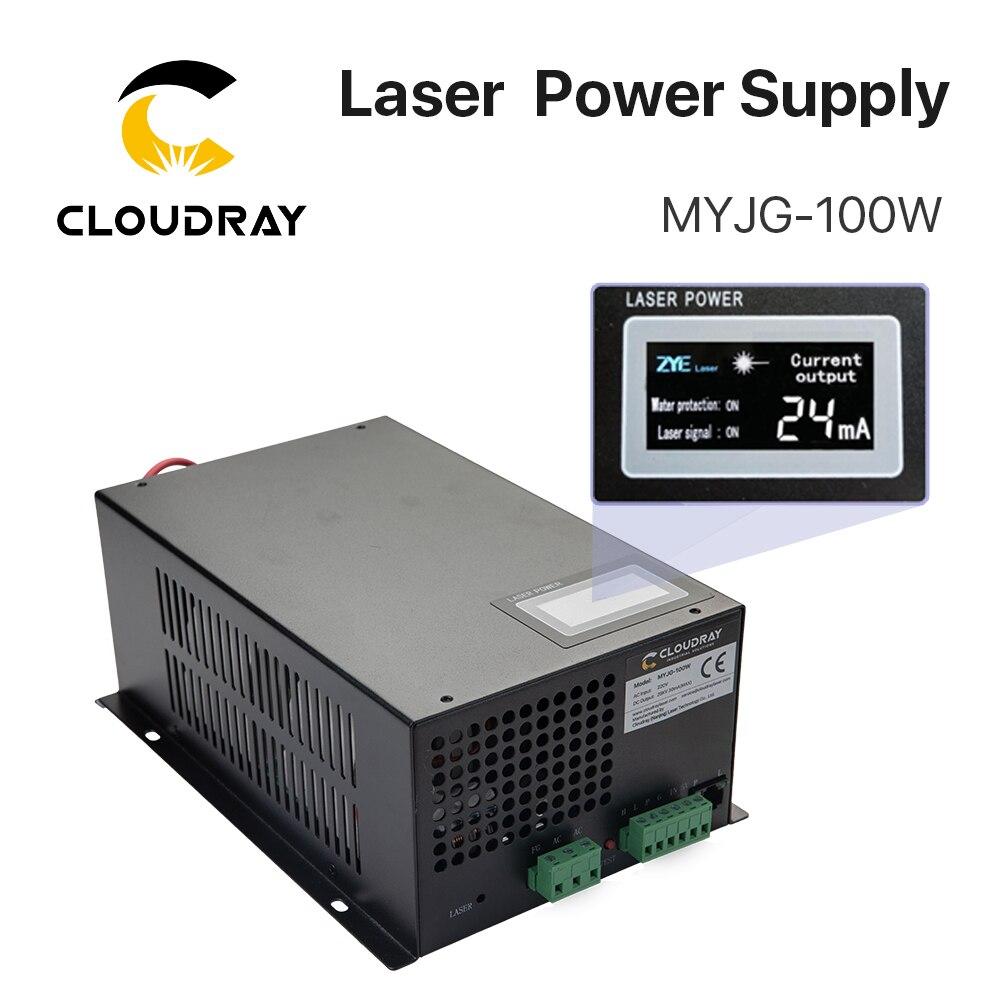Alimentation d'énergie de Laser de CO2 de Cloudray 80-100W pour la catégorie de MYJG-100W de découpeuse de gravure de Laser de CO2