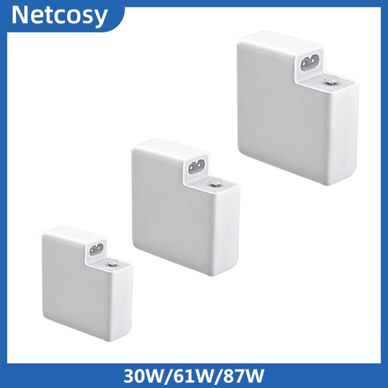 30W/61W/87W Type C PD Wall Charger Power Adapter Fast Charger For Macbook/For Xiaomi/For Huawei White Travel Charger-in Mobile Phone Chargers from Cellphones & Telecommunications