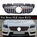 GT решетка радиатора для Mercedes SLK Class W172 R172 SLK250 SLK200 SLK350 SLK55 Алмазная решетка оригинал