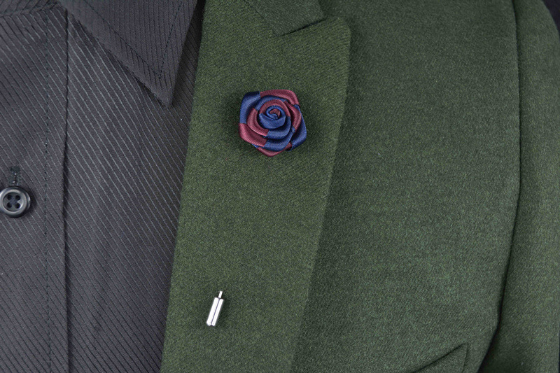 Купить с кэшбэком Men's Brooch Advanced Chic Brooches Pin Shawl Lapel Pins Uxedo Corsage Hat Shirt Collar Pin Party Daily Accessory