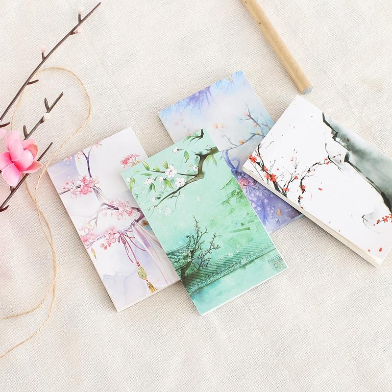 1 Pcs China Classical DIY Notepad Soft Case Mini Notebook Diary Pocket Notepad Promotion Gift Stationery