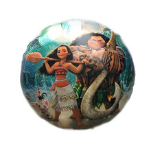 Balloon Party Decorations-Supplies Toy-Shop Moana Birthday-Gift Cartoon Aluminum-Foil