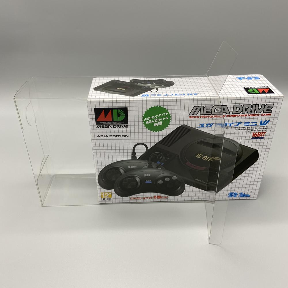 Collection box display box protection box storage box is suitable for Sega MD Classic Mini in Japan and Asia