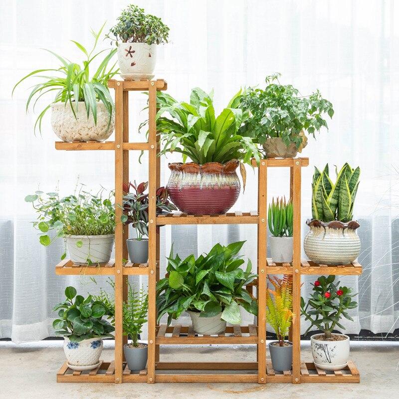 Indoor Landing Type Flowerpot Frame Multi-storey A Living Room Outdoors Rack