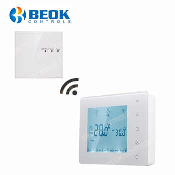 BOT-X306 Wireless Touch Screen Programmable Gas Boiler Thermostat for Room Heating Temperature Controller Regulator Kid Lock - DISCOUNT ITEM  24 OFF All Category