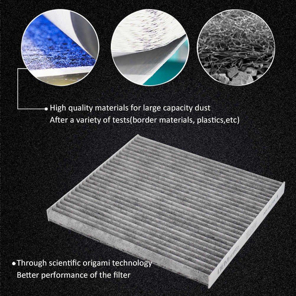 Filtro de polen filtro de carbón activado interior hyundai i30 kia ceed klimadesinfektion