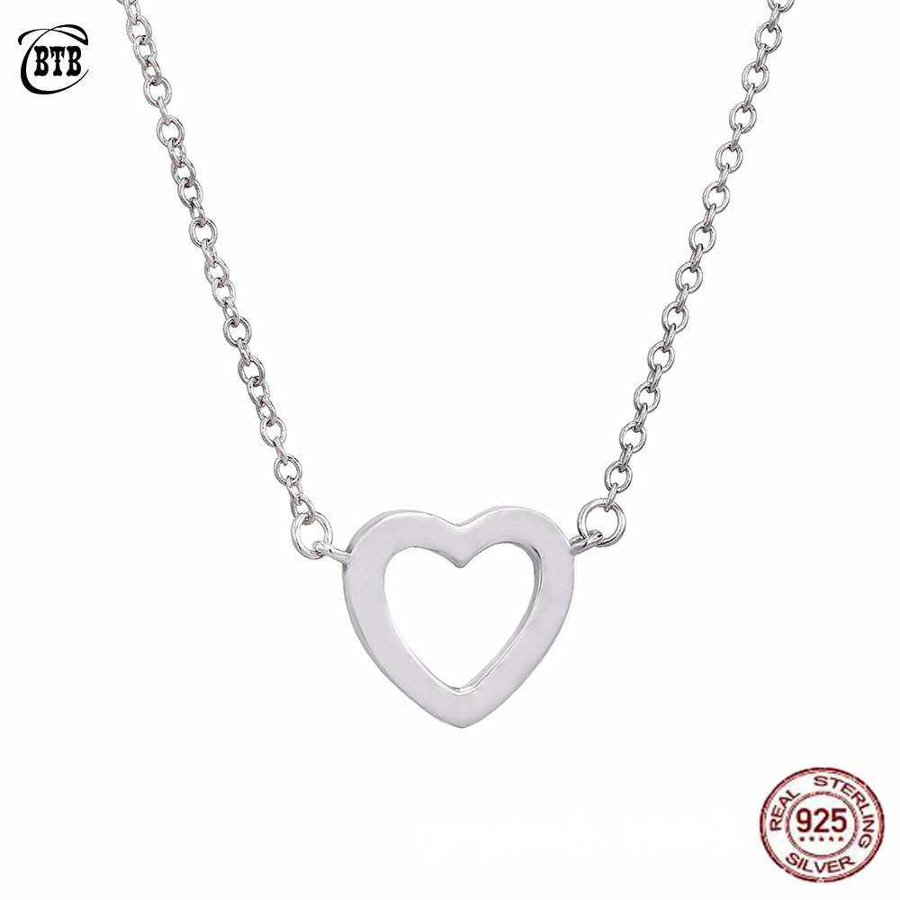 Collar Colgante Mujer Corazón Love Amor Oro Joya Accesorio Regalo San Valentin