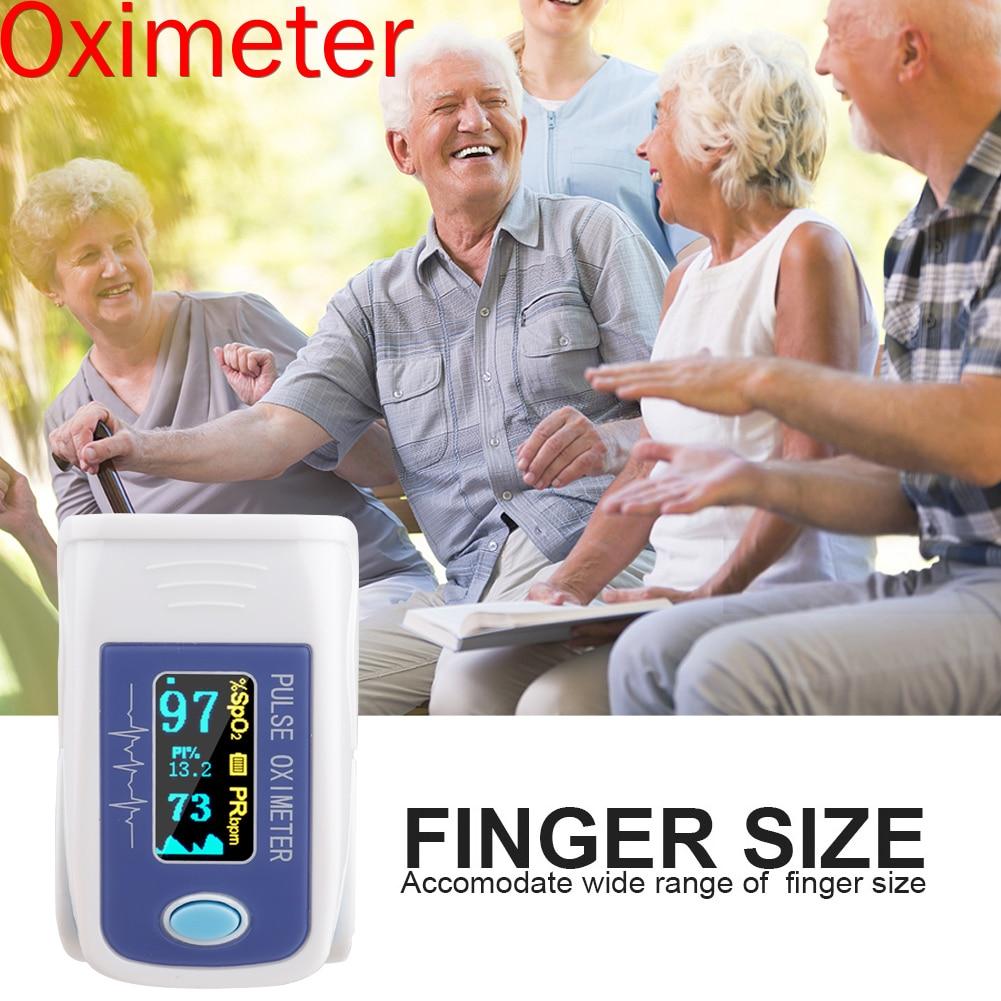 Finger Oximeter Pulse Detection Oximeter Blood Saturometer Monitor SPO2 PR Portable Pulse Oximeter Pulse Oximeter For Home