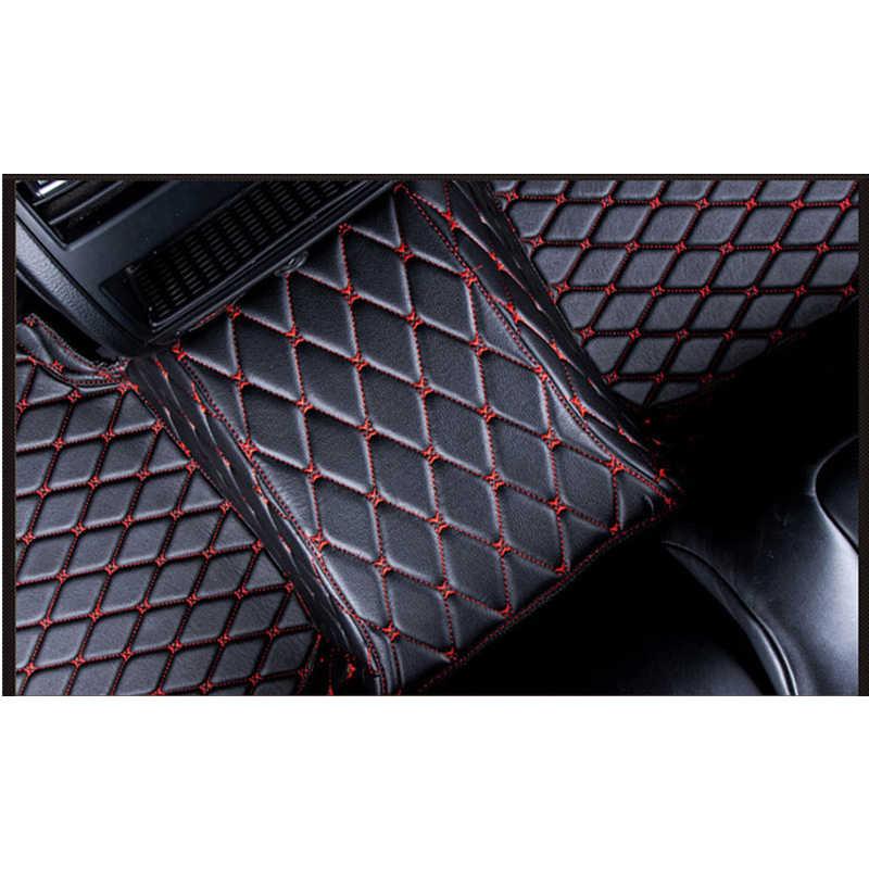 CUSTOM Car สำหรับ KIA K2/3/4/5/7 Borrego KX3 Cerato Sportage Optima Maxima Carnival rio ceed CARENS Sorento CUSTOM เท้า
