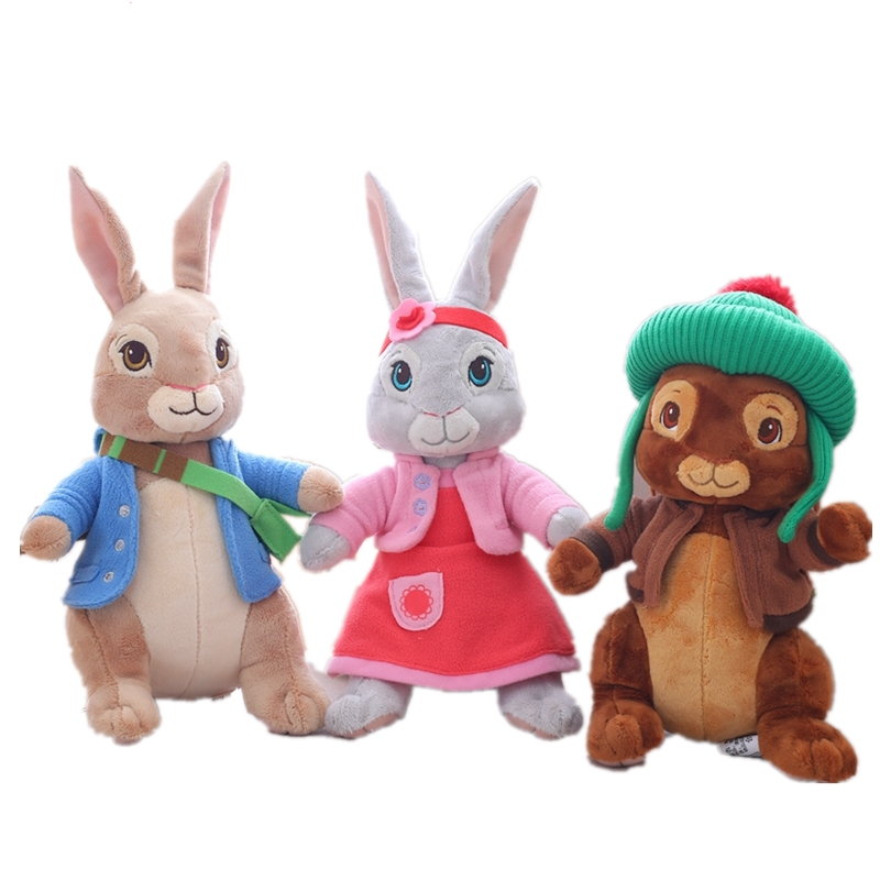 30cm New Petering Lily Ben Rabbit Plush Stuffed Toy Gift For Children Birthday Gift Wholesale