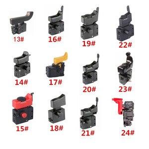Image 3 - Miniatur Power Tool Schalter Speed Control Trigger Taste für winkel grinder Elektrische hammer Auswirkungen bohrer Ausrüstung Zubehör