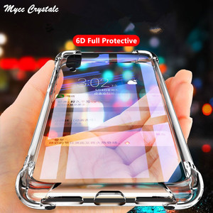 Air Cushion Transparent Case OPPO Find Realme X2 XT 5 5i 5s X50 6i 6s 6 Pro C11 C15 V5 C3 C2 A52 A72 A92s A9 A5 2020 Bumper Case(China)