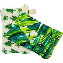 2 пакетов многоразовые губка для посуды биоразлагаемые бамбуковое