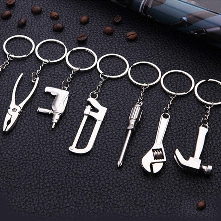 Metal Keychain Adjustable Tool Key Chain Wrench Spanner Key Ring Keyring Key Holder Keyfob Fashion Jewelry Creative New Gift
