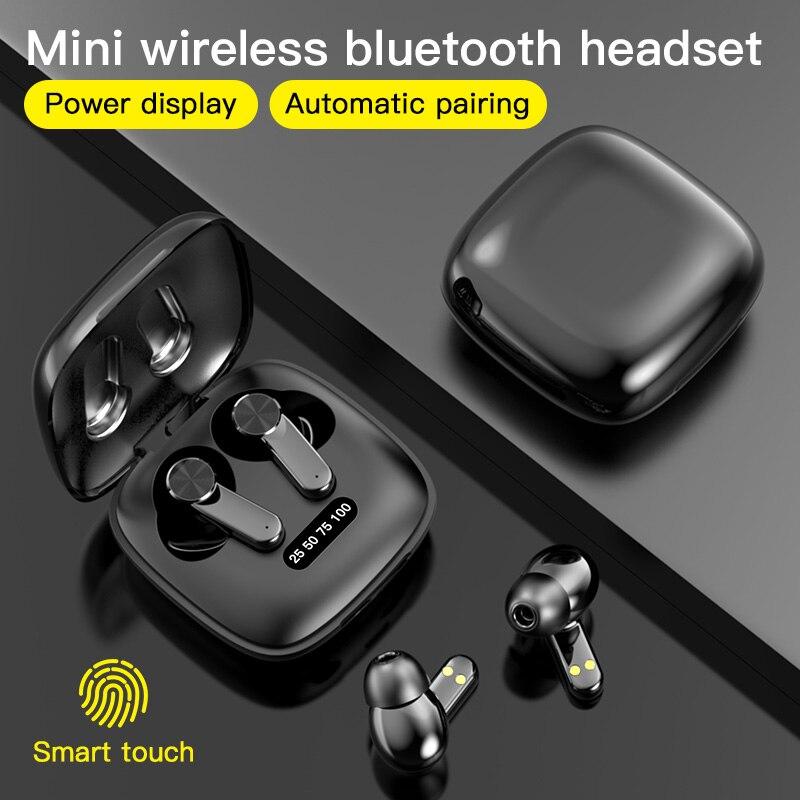 XG31 TWS 5.0 Bluetooth Earphone Wireless Headphones HD in Ear Deep Bass Earbuds True Wireless Stereo Headset Sport Earphones Bluetooth Earphones & Headphones    - AliExpress