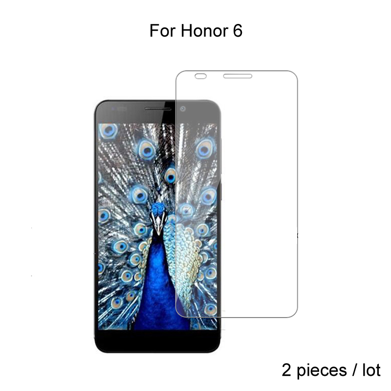 2pcs For Huawei Honor 6 Premium 2.5D 0.26mm Tempered Glass Screen Protector For Huawei Honor 6 Honor6 Protective Glass