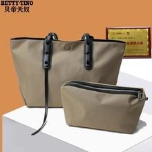 Oxford cloth handbags 2020 new canvas handbags fashion large capacity one-shoulder nylon tote bags