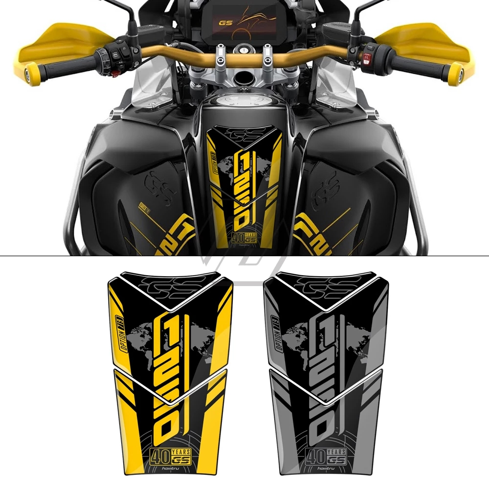 For BMW R1200GS R1250GS 2020 2021 3D Motorcycle Tank Pad Protector Decal Sticker