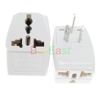 Chiny, australijski nowa zelandia wtyczka elektryczna Adapter 3 sposób multi Outlet wtyczka podróżna zmienić EU/UK/GE/AU/US do AU podłącz biały