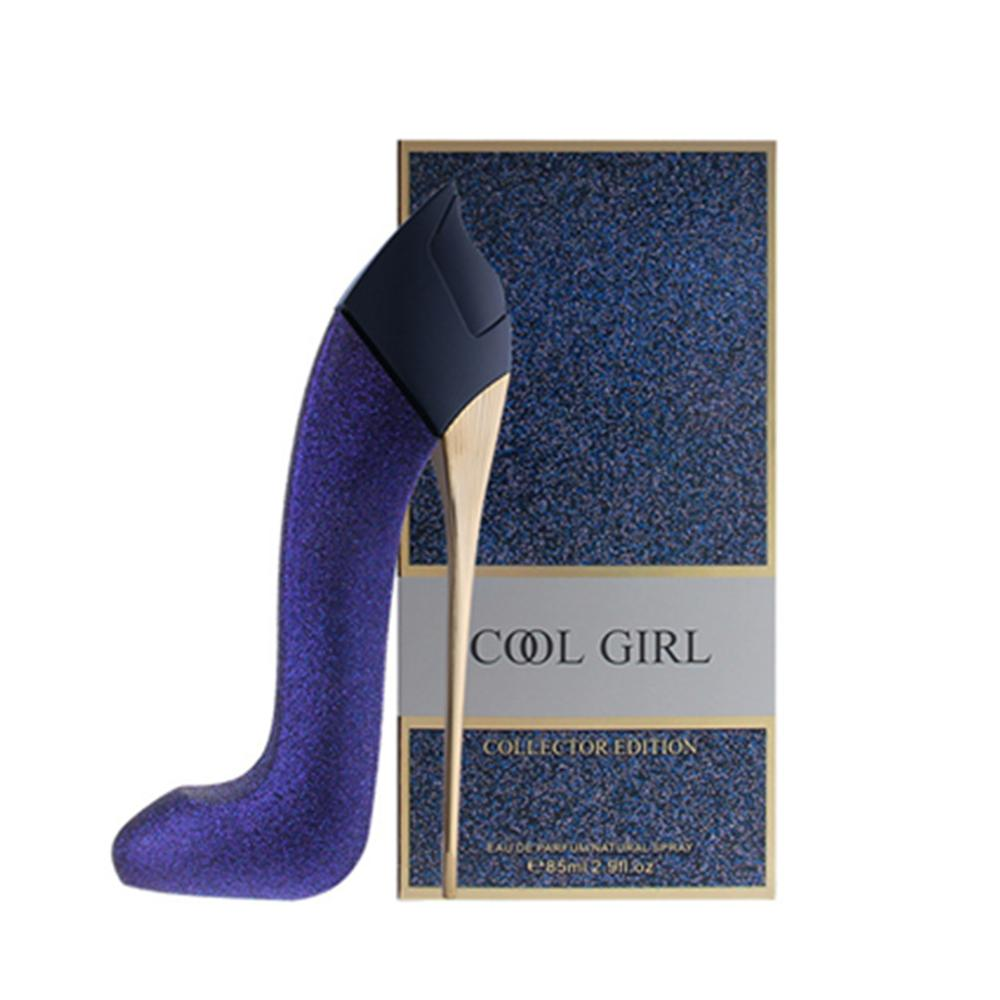 JEAN MISS Brand Original Women Perfume Long Lasting Atomizer Bottle Glass Sexy Lady High Heels Stars Parfum Fragrance Parfume