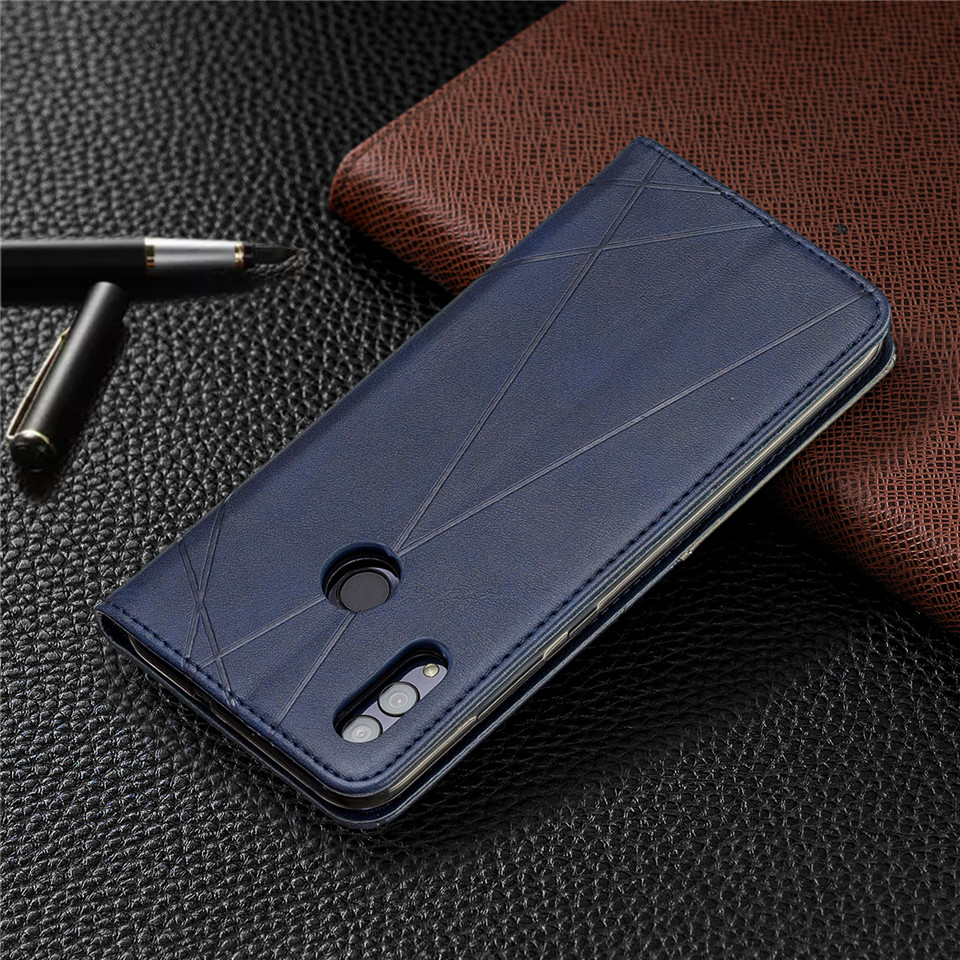 H5559a305ddb1472cb0230bf73b881134o For Huawei Honor 10 Lite Case Leather Wallet Flip Cover Soft Silicone Case for Honor 10i 9X 8A 8S Magnetic Case Card Holder