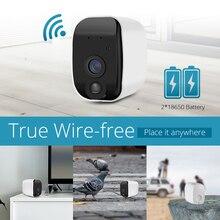 KERUI Drahtlose H.264 Outdoor 1080 P Volle HD 2,4G WiFi 18650 Batterie IP Kamera Indoor Hause Sicherheit Überwachung IR CUT kamera