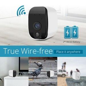 Image 1 - KERUI sans fil H.264 extérieur 1080 P Full HD 2.4G WiFi 18650 batterie IP caméra intérieure de Surveillance de sécurité à domicile caméra de IR CUT