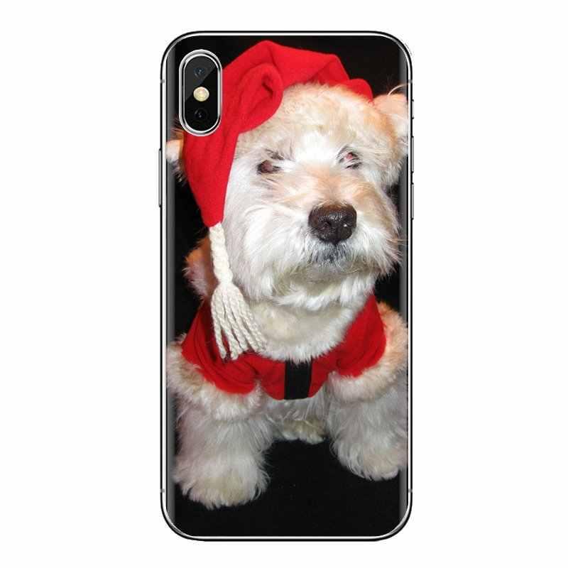 Casos suaves Capa Cão West Highland White Terrier Para Huawei G7 G8 P7 P8 P9 P10 P20 P30 Mini Lite pro P Smart Plus 2017 2018 2019