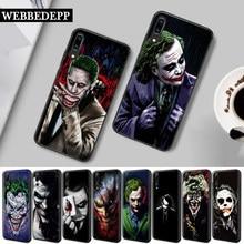 26W mroczny rycerz Joker Karta krzemu skrzynka dla Huawei P8 P9 Mini P10 P20 P30 Lite Pro 2015 2016 2017 P Smart Plus 2019