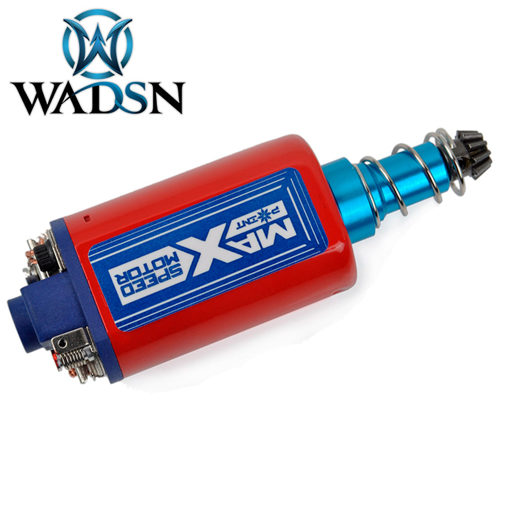 WADSN High Speed MAX SPEED (LONG TYPE) MOTOR For Airsoft AEG Ver.3  Strong Magnet Motor FB09004 Shooting Paintball Accessories