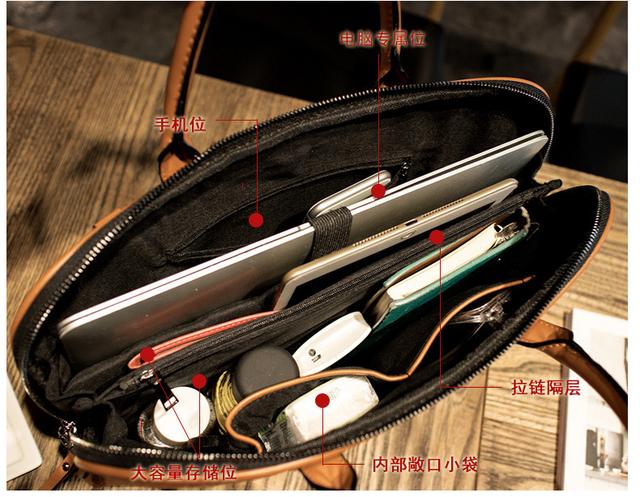 PU Leather Laptop Briefcases 14 15 15.6 Handbag For Macbook Air 13 Bag Pro 13.3 15.4 Case Laptop Bag Women Shoulder Office Bags