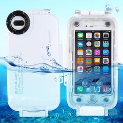 PULUZ 40m/130ft Waterproof Case For iPhone 7 Plus & 8 Plus MAX Diving Housing Photo Video Taking Underwater Cover Case