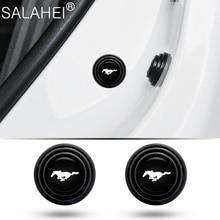 Naklejki drzwi samochodu amortyzator bufor uszczelka ochrona na pas samochodowy naklejki dla Ford Mustang Auto towary stylizacja wnętrza akcesoria