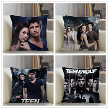 Musife Custom Teen Wolf Pillowcase Sofa Decorative Cushion Cover Pillowcase Home Decor Decoration Pillowcase Drop Shipping