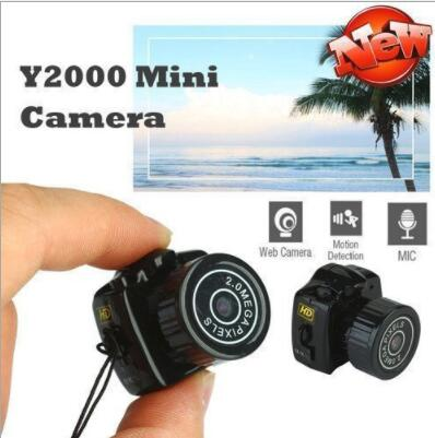 2019 new Y2000 Mini Camera Camcorder sale Micro DVR Camcorder 720P Portable Webcam Recorder Camera With Key Chain image