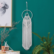 New Arrival Moon Wall Hanging Handmade Tapestry Bohemian Art Decoration for Living Room GT002