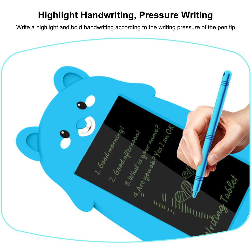 Colors Screen LCD Writing Tablet 8.5 Inch Drawing Handwriting Pad Message Board Kids Writing Board Educational Puzzle