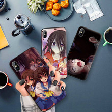 adventure comics corpse party Soft Silicone Phone Case For iphone X XS Max XR Case For iphone 7 8 6 6s Plus TPU Back Cover(China)
