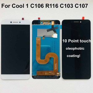 Image 1 - Orijinal Cool1 çift C106 R116 C103 lcd ekran dokunmatik ekranlı sayısallaştırıcı grup değiştirme Letv Le LeEco Coolpad serin 1c