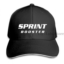 Sprint Booster S Vinl Car Graphics Baseball cap men women Trucker Hats fashion adjustable cap(China)