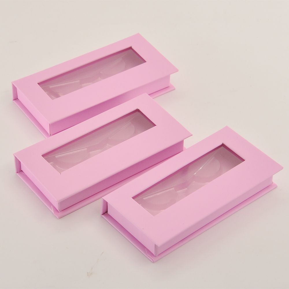 chicote pacote logotipo personalizado magnético rosa escuro