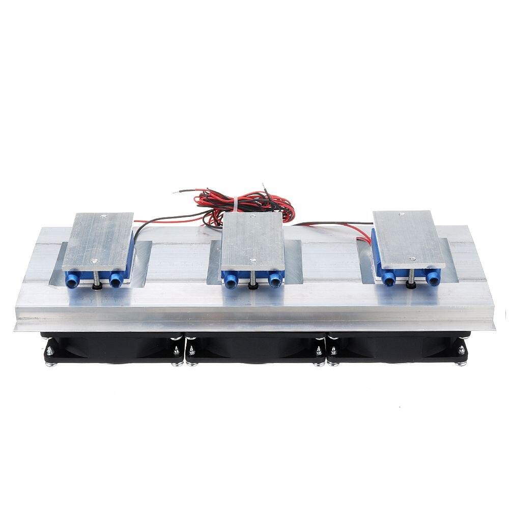 DC 12V 15A Fish Tank Chiller Semiconductor Refrigeration Film Refrigerator Chiller For 30 Liter Fish Tank Aquarium Cooling