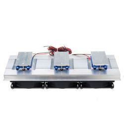 Dc 12V 15A Aquarium Chiller Halfgeleider Koeling Film Koelkast Chiller Voor 30 Liter Aquarium Aquarium Cooling
