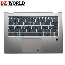 Nueva carcasa Original C cubierta superior con reposamanos con teclado Inglés Americano Touchpad para Lenovo Yoga 520-14IKB Flex 5-1470 Laptop
