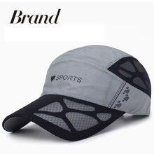 Men Women Baseball Cap Summer Breathable Mesh Sunshade Hat Adjustable Sun Hat Golf Tennis Cap Running Hiking Cap